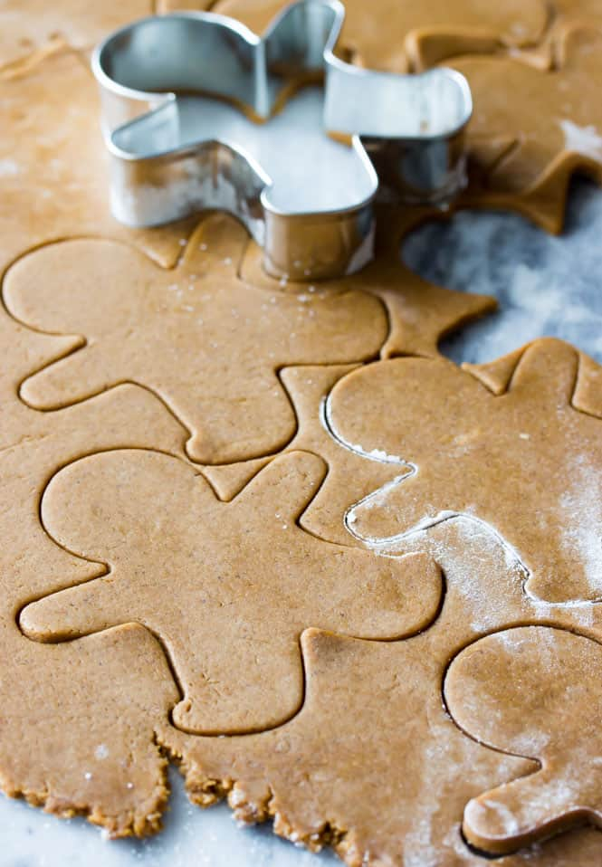 Cut-out Gingerbread Men